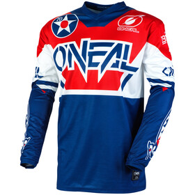 O'Neal Element Maillot de cyclisme Homme, blue/red